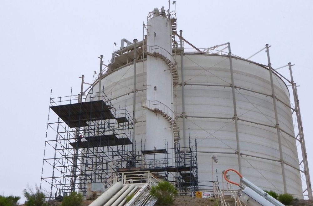 Remediation of Access Towers to RLPG Tanks